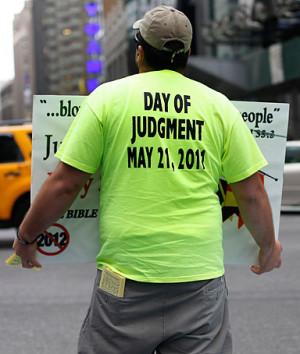 Rapture, Judgement Day, quotes