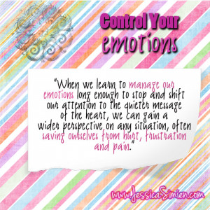 Quote of the Week: Control Your Emotions