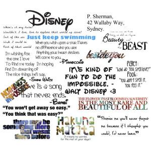 collage, disney, quotes, snow white, walt disney