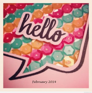 Hello pictures and quotes   Hello february card 20141 Hello february ...