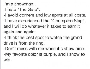 My favorite color is purple...