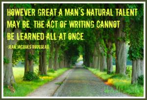 Rousseau Quote