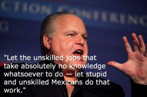 Rush Limbaugh Quotes Mexicans