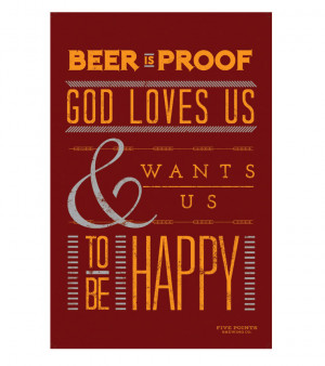 hum hai beer quote beer quotes poster beer poster beer is proof poster ...