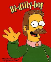 Ned Flanders & the Simpsons