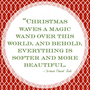 Quote of the Day: The Magic Wand Of Christmas — Project Gadabout