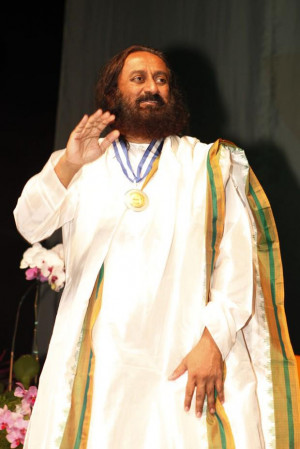 Sri Sri Ravi Shankar Ji receives the Tiradentes Medal in Rio the