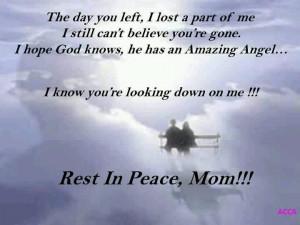 Rip Mom Quotes Rip mom