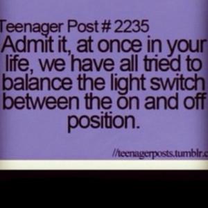 Admit it….