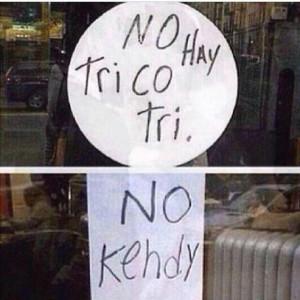 No Hay Trico Tri • No Kendy