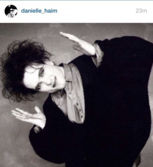 current, mood. via @danielle_haim (Instagram)