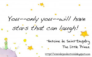 truly hope that I leave you all with stars that can laugh. :)