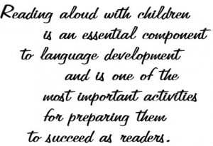 Kindergarten Reading Quotes
