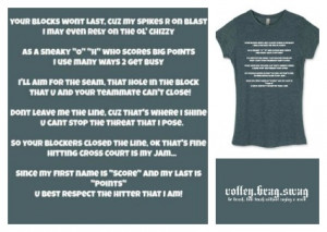 Volleyball Sayings For Hitters Volleyball sayings for hitters