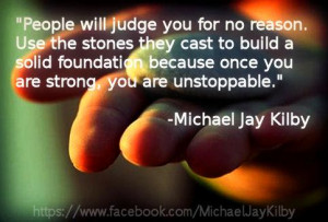 Being Judged Quotes About