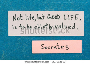 famous ancient Greek philosopher Socrates quote interpretation with ...