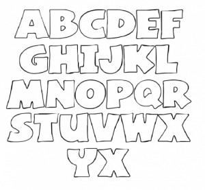 Free Printable Stencil Letters Template