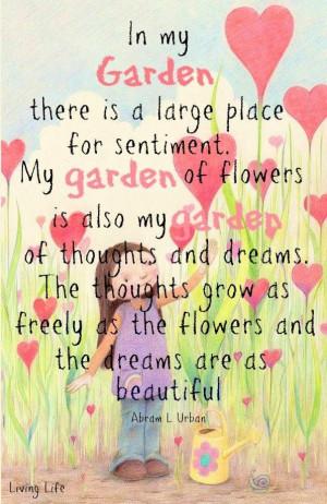 Garden quote: Gardens Ideas, Organizations Gardens, Gardens Backyard ...