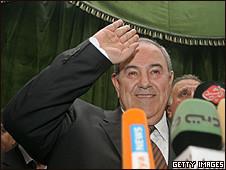Iyad Allawi afirmou que teme que o Ir tente impedir sua posse