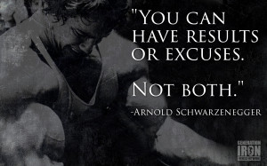 Generation Iron Arnold Schwarzenegger quote