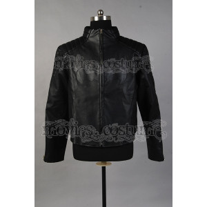 You 39 re reviewing Black Leather Shield Jacket Costume for Batman