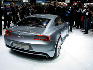 ... it possible, but Audi has made the e-tron electric car even sexier