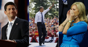 Paul Ryan, Barack Obama and Ann Romney are pictured. | AP Photos