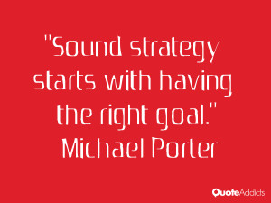 Sound strategy starts with having the right goal Wallpaper 3