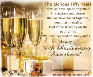 Happy 50th Anniversary Quotes