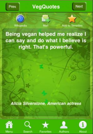 Veg Quotes - Vegetarian and Vegan Inspiration iPhone App & Review