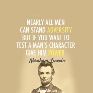 Abraham Lincoln Font
