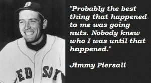 Jimmy Piersall Runs the Bases Backwards!!