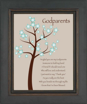 Godparents gift - Personalized gift for Godmother and Godfather- Gift ...