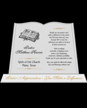 Pastor Appreciation Poems Scriptures and Quotes