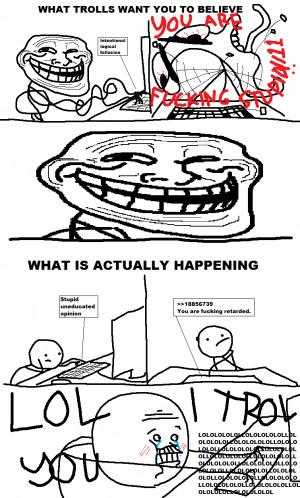 Ecuación del 'troll' según esta imagen: