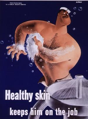 goodideapublichealth:Personal hygiene poster. U.S. Public Health ...