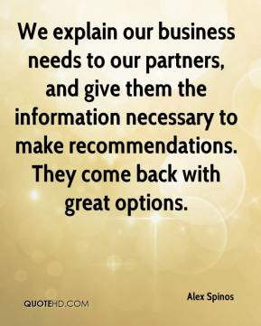Recommendations Quotes
