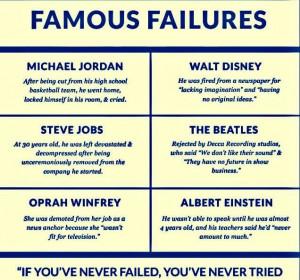 Famous Failures...