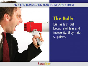Five Bad Bosses and How To Manage Them