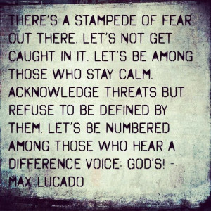 Max Lucado Quote Faith Jesus