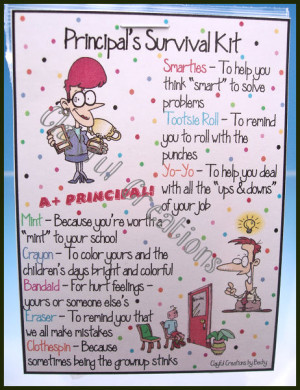 Details about PRINCIPAL's Survival Kit - Becky's This and That