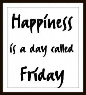 Helloooo, Friday!