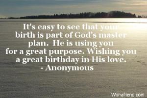 Christian birthday quotes Christian Birthday quotes - 1.