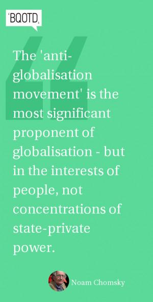 "anti globalisation movements Movement insist that the movement ""isn't really anti-globalization, we just want   analysis of 30 anti-globalization and anti-corporate movements, finding the."