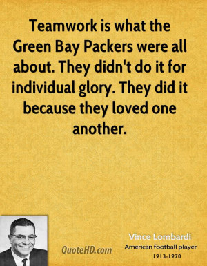 Green Bay Packers quote #2