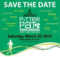 ... Patrick's Day themed fundraising run. Junior League of Springfield MO