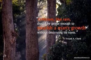 criticism quote Frank A Clark