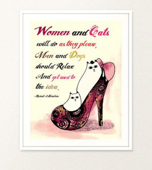 Illustration Typography Poster Digital Print Women Quote Drawing Pen ...