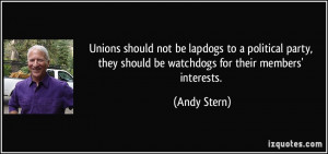 More Andy Stern Quotes