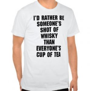 Funny Tea Quotes Short Sleeve Men's Tshirts